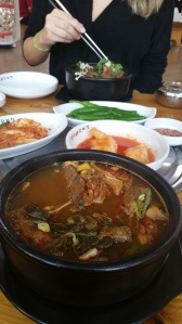 Soup and maaany side dishes. Pic by: Div